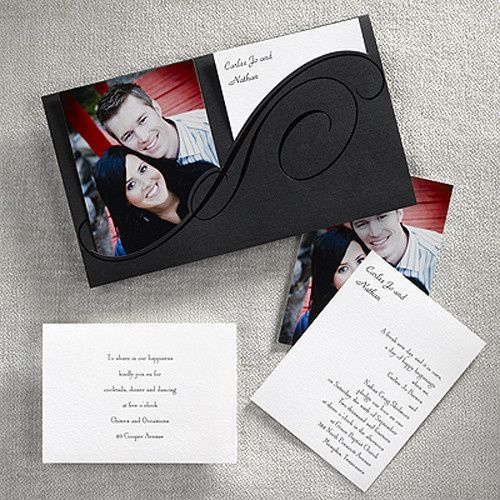 Tmx 1388424108466 Styleartweddingpocket801 Newton Center wedding invitation