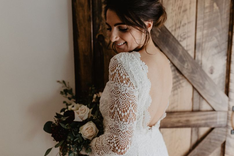 Lace that looks glam