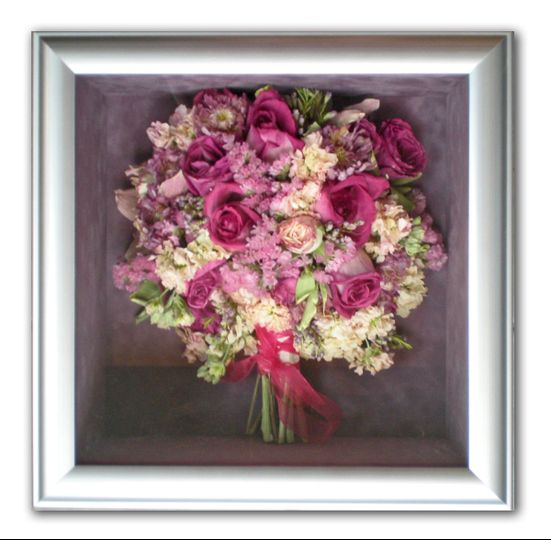 freeze dried hand tied bouquet