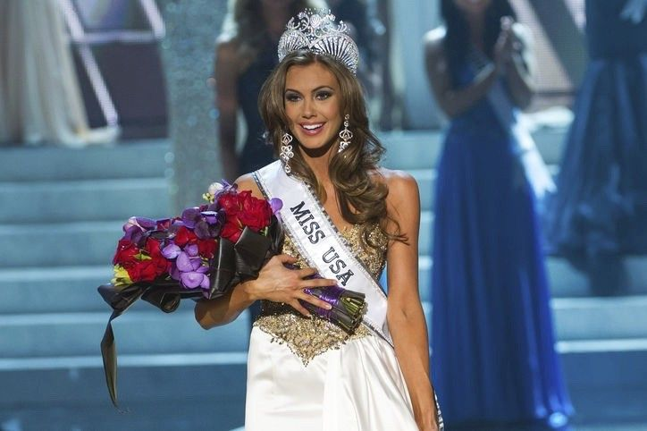miss usa 2013 flowers before