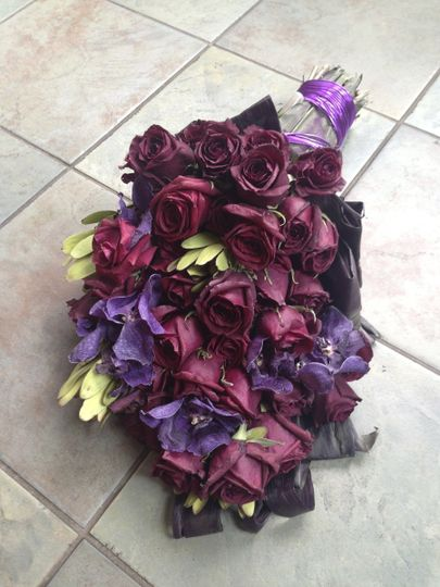 miss usa 2013 preserved bouquet