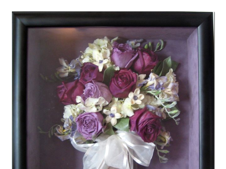 Tmx 1426126276424 Preserved Lavender And Purple Roses Greenwich wedding florist