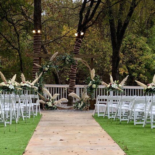 Romantic Boho Ceremony
