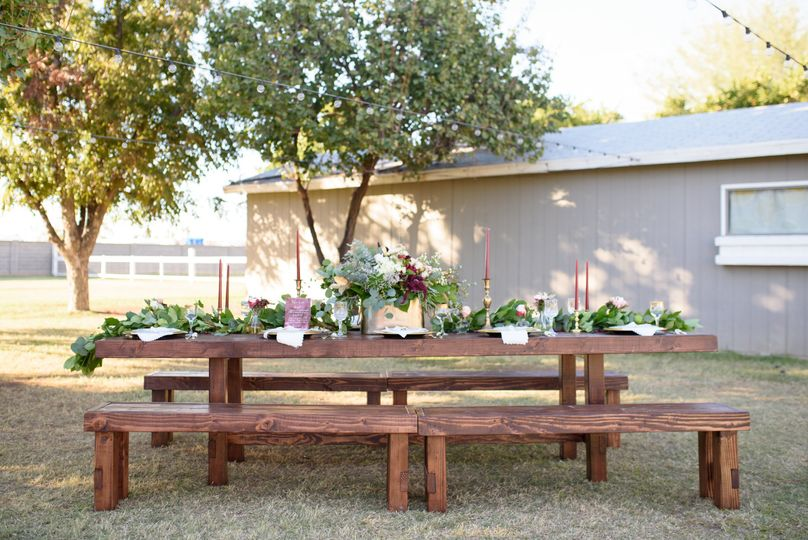 Scottsdale Farm Tables Event Rentals Mesa Az
