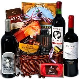 Gift baskets are offered for the bride and groom.