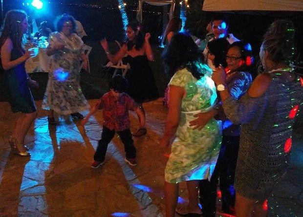 Groovin' dance floor