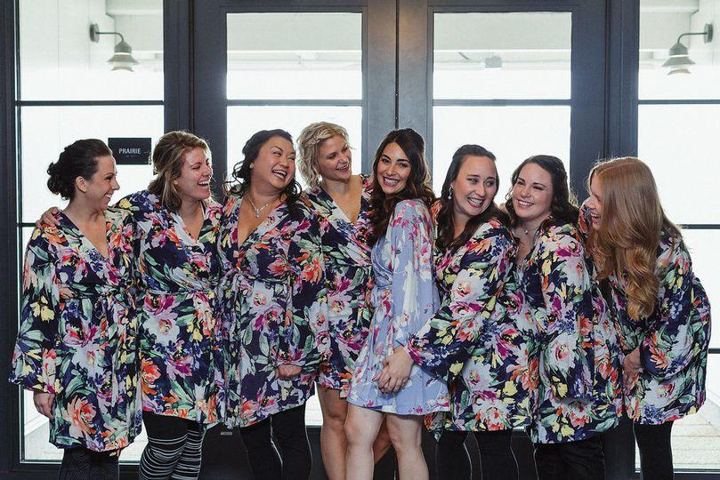 Bride squad at ace hotel