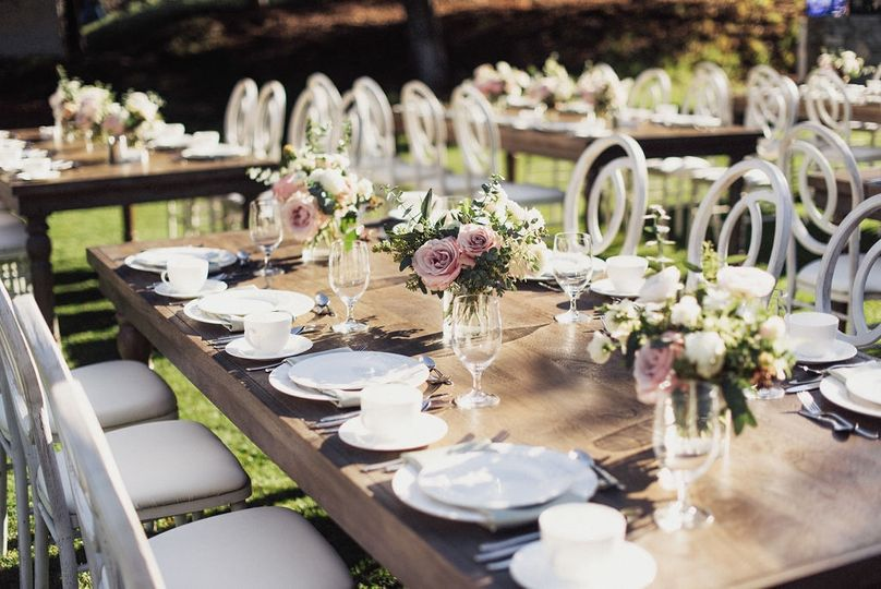 Outdoor Wedding Brunch - CA