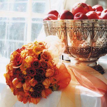 Tmx 1390927703443 Orange Bouque Red Hook wedding florist