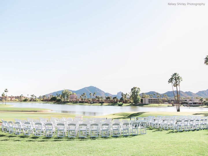 Ceremony at McCormick Ranch Golf Club - Kelsey Shirley Photography