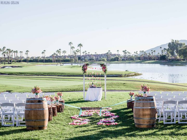 Ceremony at McCormick Ranch Golf Club - Meagan Gibson Photography