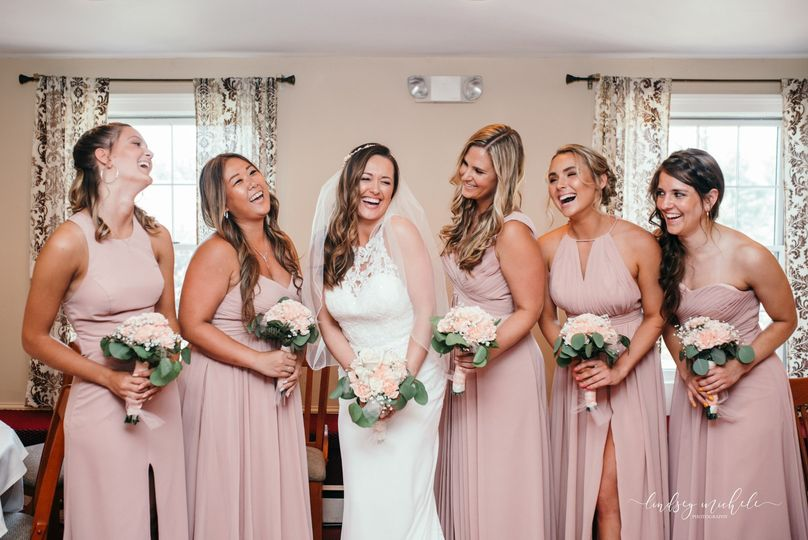 Bridal party in the koft