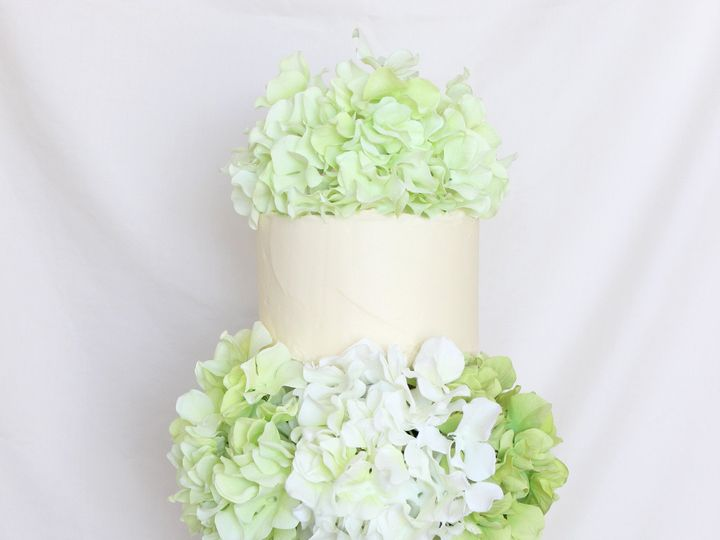 Tmx 1439743397143 Hydrangea Edit 2 West Roxbury wedding cake