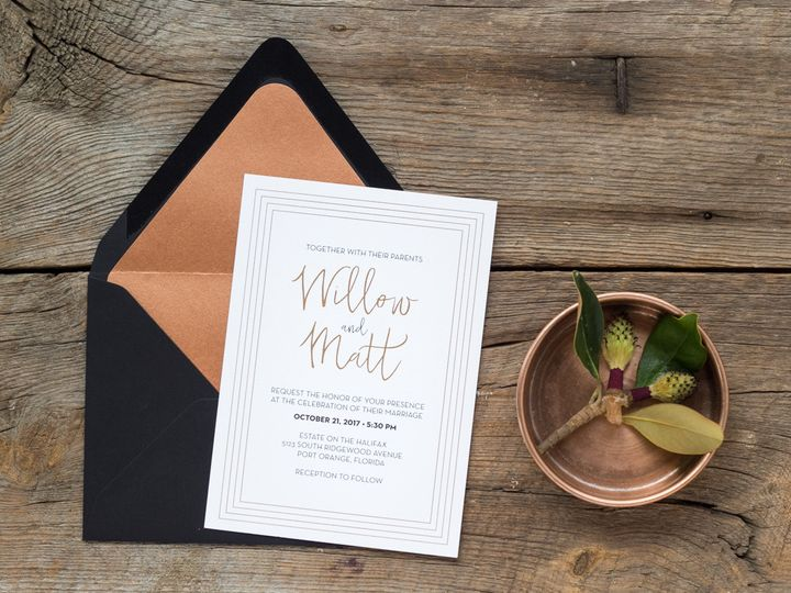 Tmx 1467302466729 Willow2 018 Forest City wedding invitation