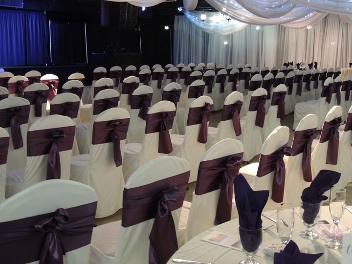 Tmx Ceremony In Ballroom With Theater Style Seating Chair Covers And Sashes 51 21286 1561414393 Hamel, MN wedding venue