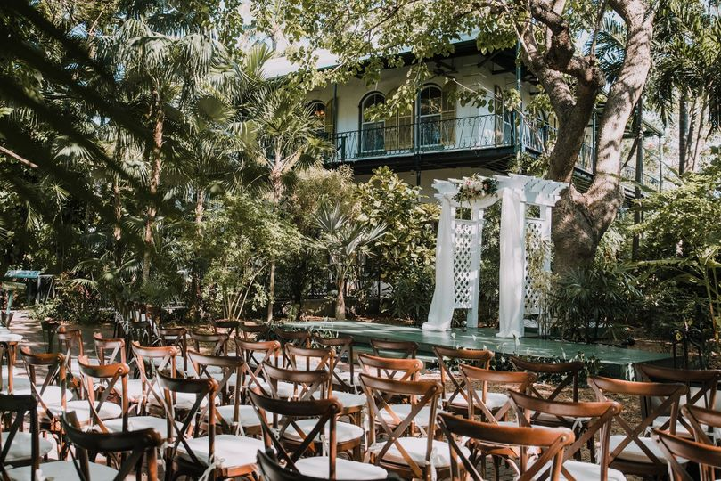 Hemingway House Wedding