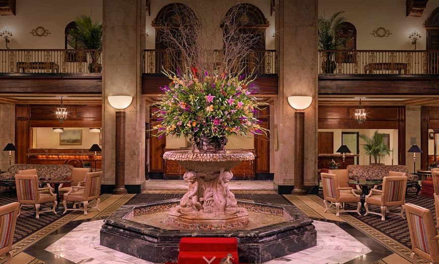 The Peabody Memphis Grand Lobby