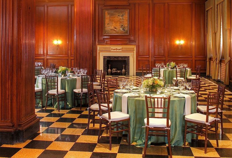 The Forest Room, ideal for Rehearsal Dinner Events
