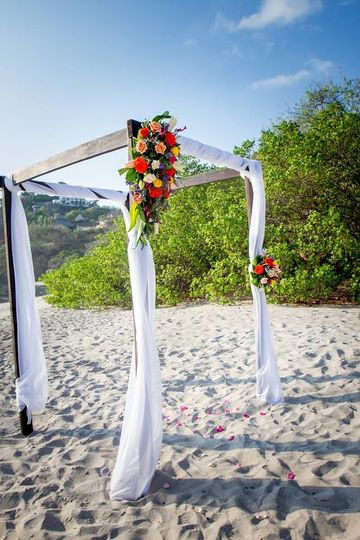 Canopy for Beach Ceremony
