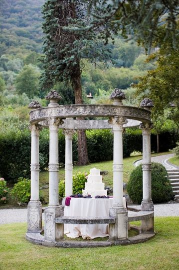 Wedding cake - Lake Como