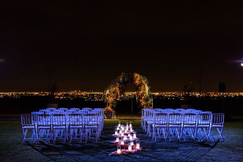 Rolling Hills Country Club - wedding ceremonies at night
