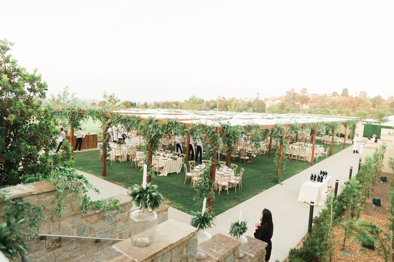Skyline Event Lawn - can accommodate large groups