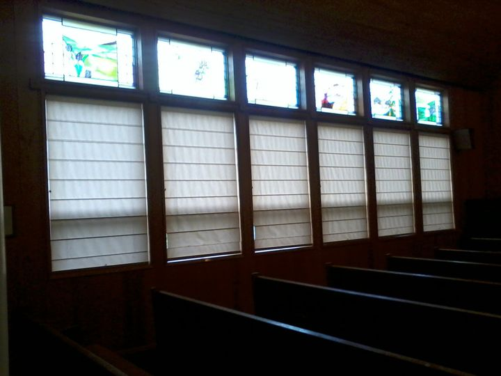 Chapel stained glass windows