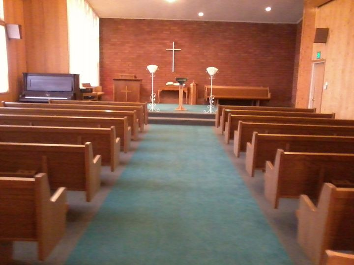 Chapel offers comfortable seating