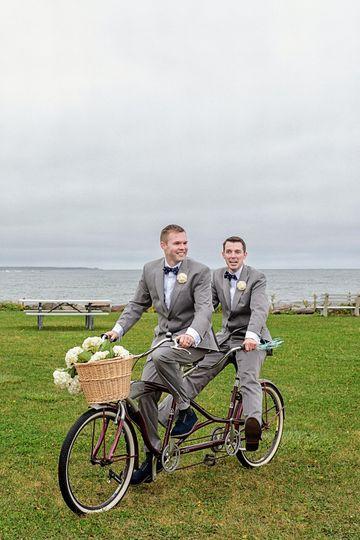 lgbtq gay wedding tandem bike nh 51 79286