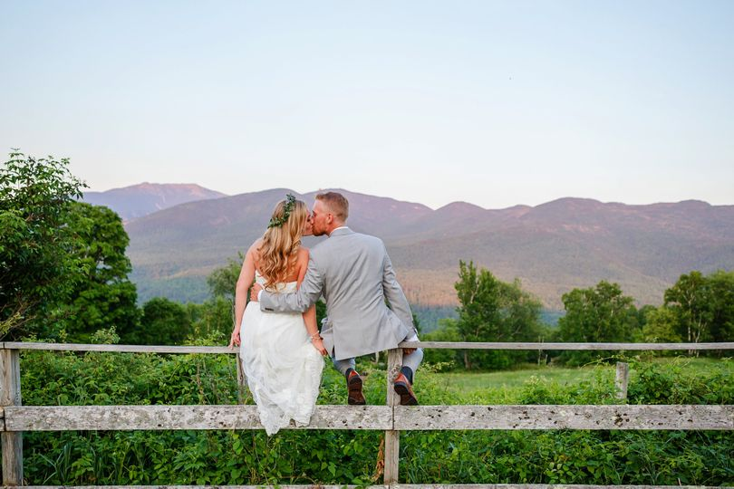 toad hill farm wedding couple on fence franconia nh 51 79286 v1