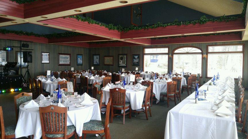Indoor Restaurant Wedding