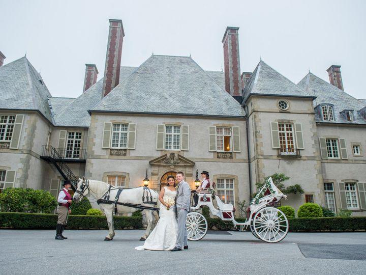Tmx 1489879795018 Bridegroom Standing Full Carriagecroprotate Saunderstown wedding transportation