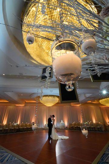 Hyatt Reg. Orlando chandelier