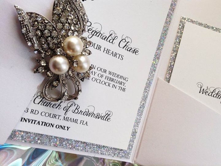 Luxury Wedding Invitation Suite