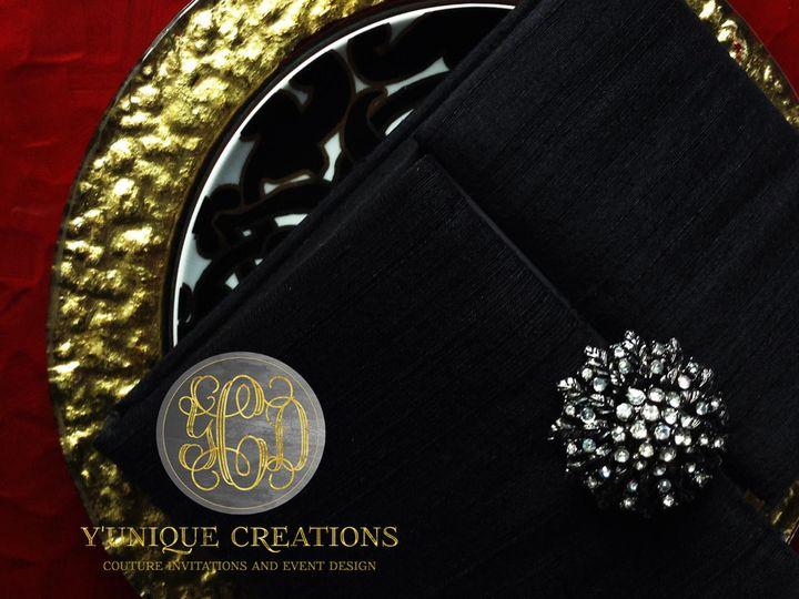 luxurious Fabric Boxed Invitation