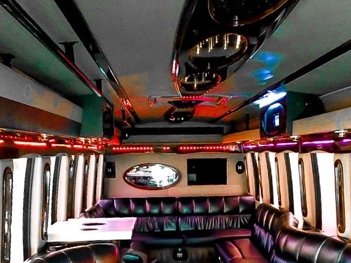 Tmx 28 Pax Party Bus Inside2 51 1004386 160382444665234 East Rutherford, NJ wedding transportation