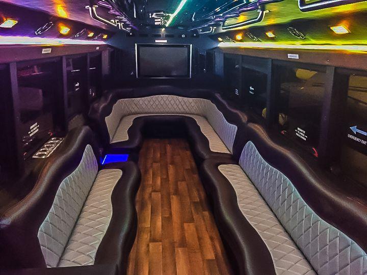 Tmx 28 Pax Party Bus Inside3 51 1004386 160382444882502 East Rutherford, NJ wedding transportation
