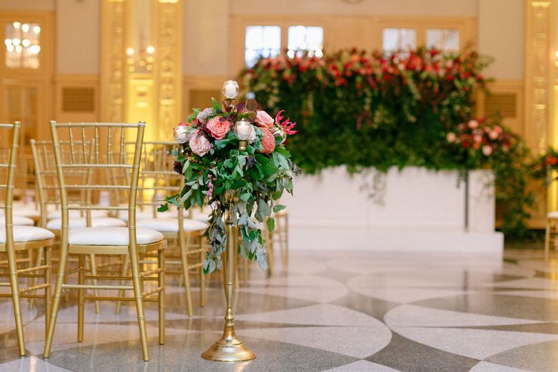 Original Terrazzo marble floors