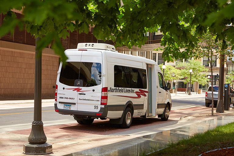 Van-style bus