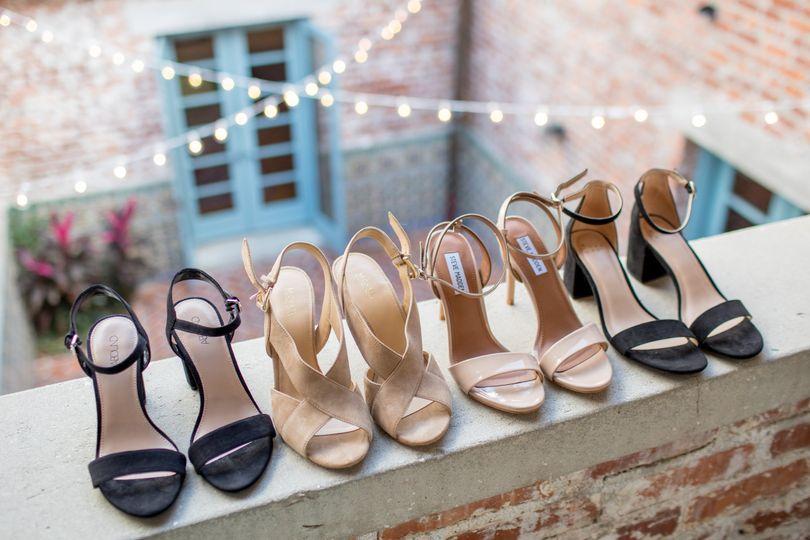 Bridal details at Casa Feliz