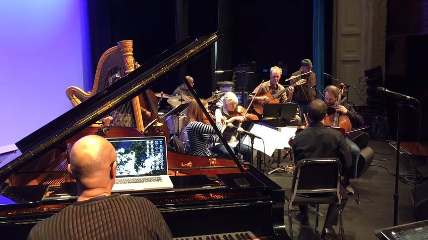 With Billy Childs and band