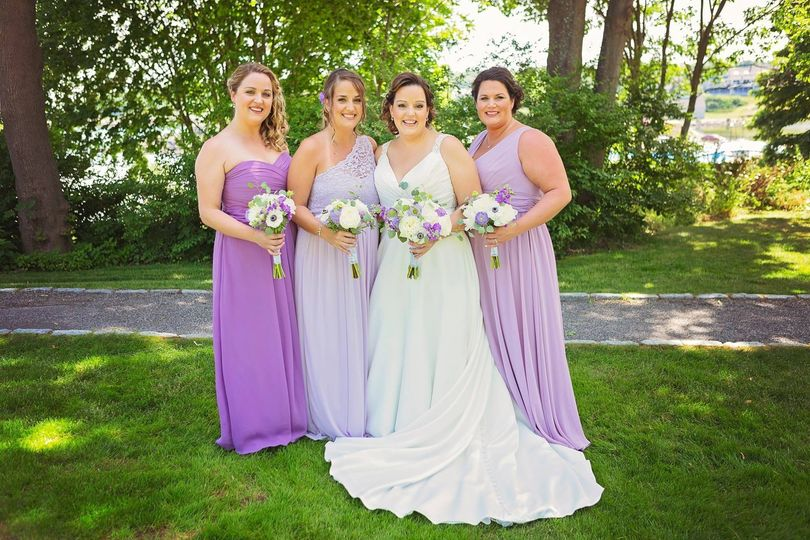 York, Maine Bridal Makeup