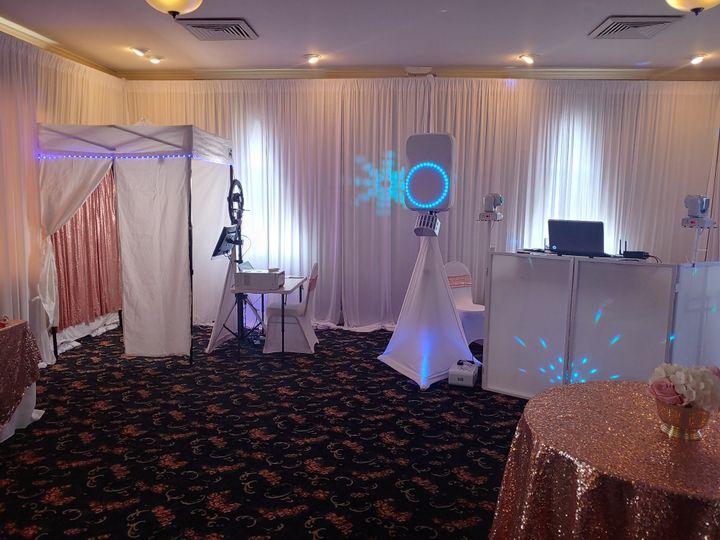 DJ, Photo Booth & Uplights