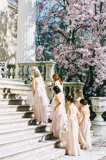 Bride and Bridesmaids Steps