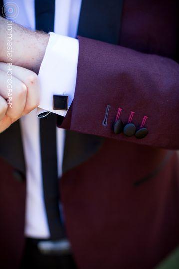 Coat cuff links