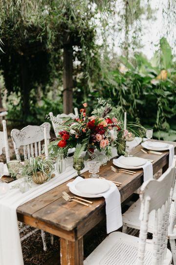 Table setting - Ash Simmons Photography
