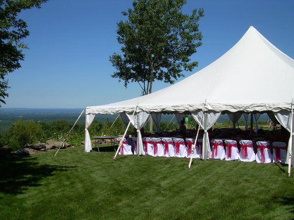 30x30 Century Tent with Chairs and Chair Covers