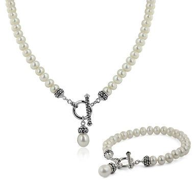 Tmx 1432322551006 Pallini Necklace And Bracelet White Athens wedding jewelry