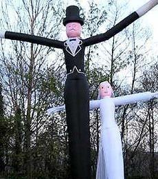 0b9cdd0496854e6c Air Dancers Bride Groom