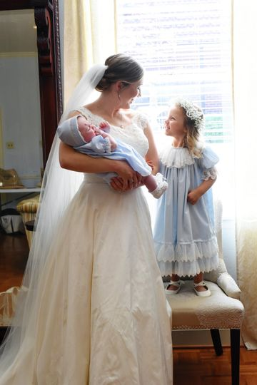 Flower Girls come in all sizes!